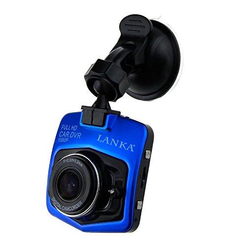 LANKA® HD 1080P Car DVR Dash Camera G-sensor Motion Detection