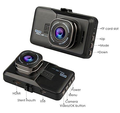 "ARAS 3.0"" FHD Car Dash Camera 1080P 170°Super Wide Angle"