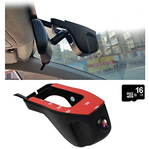 Toguard Black Hidden WiFi Stealth Car Dash Cam
