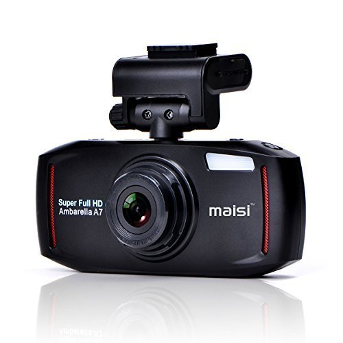 MAISI 2K Extreme HD Pro 1296P Car Dash Camera, 2.7-Inch Screen In-Car Dashboard Cam with Collision Detection And Emergency Recording - Resolution Increased by 50% Compared with 1080p