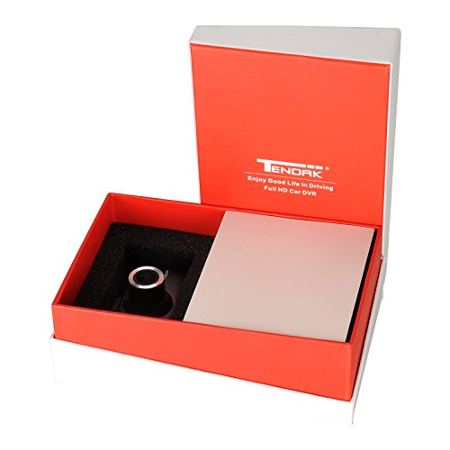 "Tendak 2.7"" Car DVR Camera Recorder H.264 170 Degree Dash Cam 1080P Full HD Night Vision with 16GB Micro SD Card"