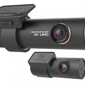 BlackVue DR900S-2CH 128 GB 4K Ultra HD Wide Angle Cloud Connected Dash Camera