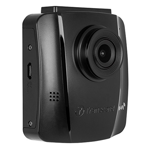 Transcend Suction Mount 16 GB DrivePro 130 Car Video Recorder with Built-In Wi-Fi, TS16GDP130M