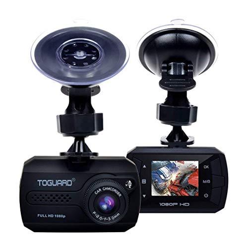 TOGUARD Mini Dash Cam Full HD 1080P Car Dash Cam