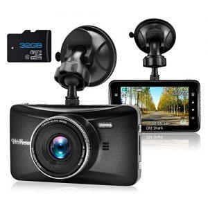 OldShark Dash Cam 1080P HD Car Driving Video Recorder