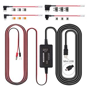 eSynic Mini USB Port Dash Car Camera Hardwire Kit