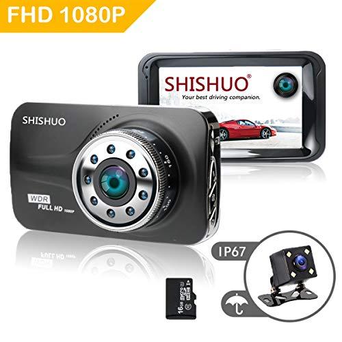 SHISHUO Dash Cam 1080P HD