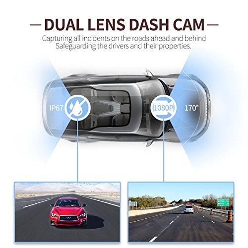 ULU Car Dash Cam Full HD 1080P
